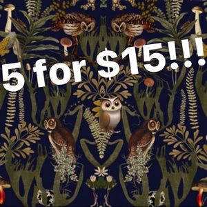 🦉5 for $15 Sale! BUNDLE AND SAVE!!!